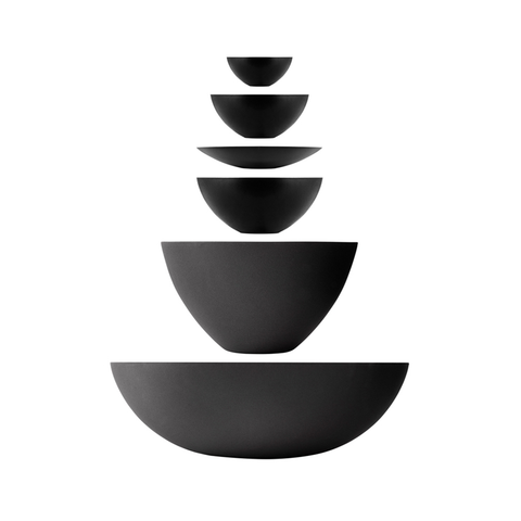 Normann Copenhagen Krenit Bowl Model 2, 12.5cm 和風琺琅 個人餐碗 / 米飯碗