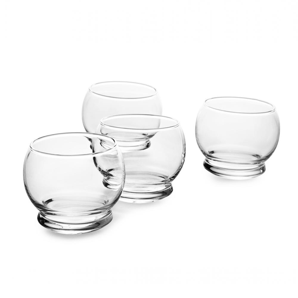 Normann Copenhagen Rocking Glasses 250ml 4pcs 搖曳 玻璃酒杯 四件組