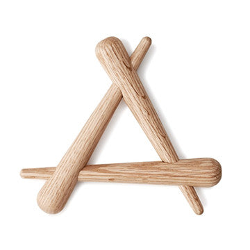 Normann Copenhagen Timber Trivet 橡木 三角隔熱墊