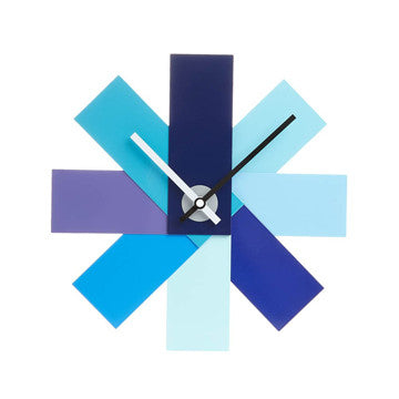 Normann Copenhagen Watch Me Wall Clock 彩色風車 壁鐘 彩色版