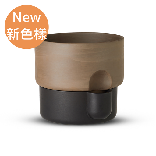 Northern Oasis Double Flower Pot in Large 27.5cm 綠洲系列 雙層 花盆 - 大尺寸