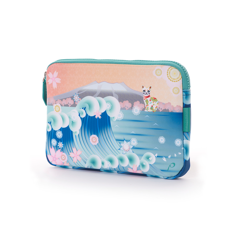 Papinee Cat Tablet Case Small 日本 貓咪 iPad Mini 防護袋