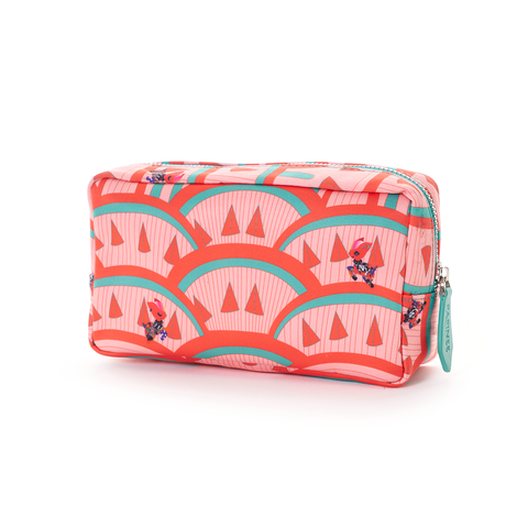 Papinee Deer Cosmetic Pouch Small, Travel Kit Series 紐約 小鹿 旅行系列 多功能 立式收納包 / 化妝包 小尺寸