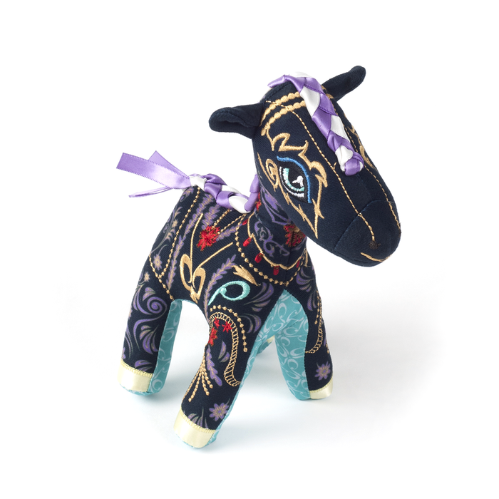 Papinee Horse Amuse Decoration 巴黎 小駿馬 布偶