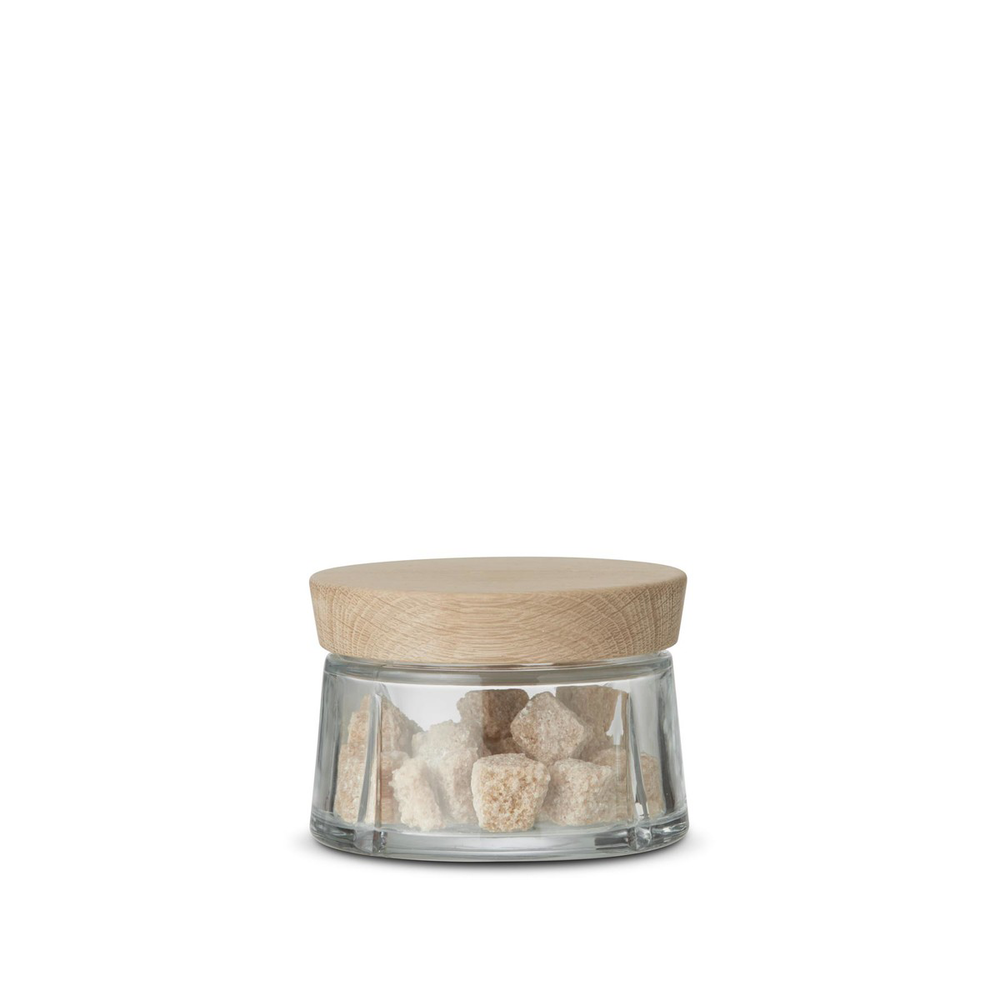 Rosendahl Grand Cru Glass Storage Jar 0.25L, GC 系列 玻璃儲物罐 橡木蓋子款