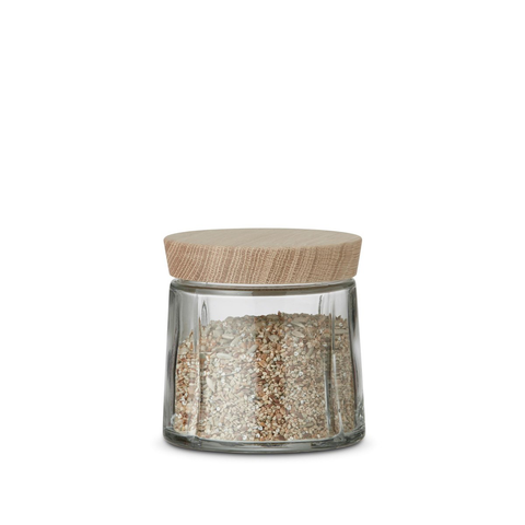 Rosendahl Grand Cru Glass Storage Jar 0.5L, GC 系列 玻璃儲物罐 橡木蓋子款