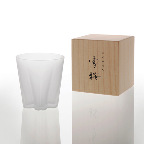 100% Yukizakura Whisky Matte Glass 260ml 雪櫻杯系列 霧面 威士忌酒杯