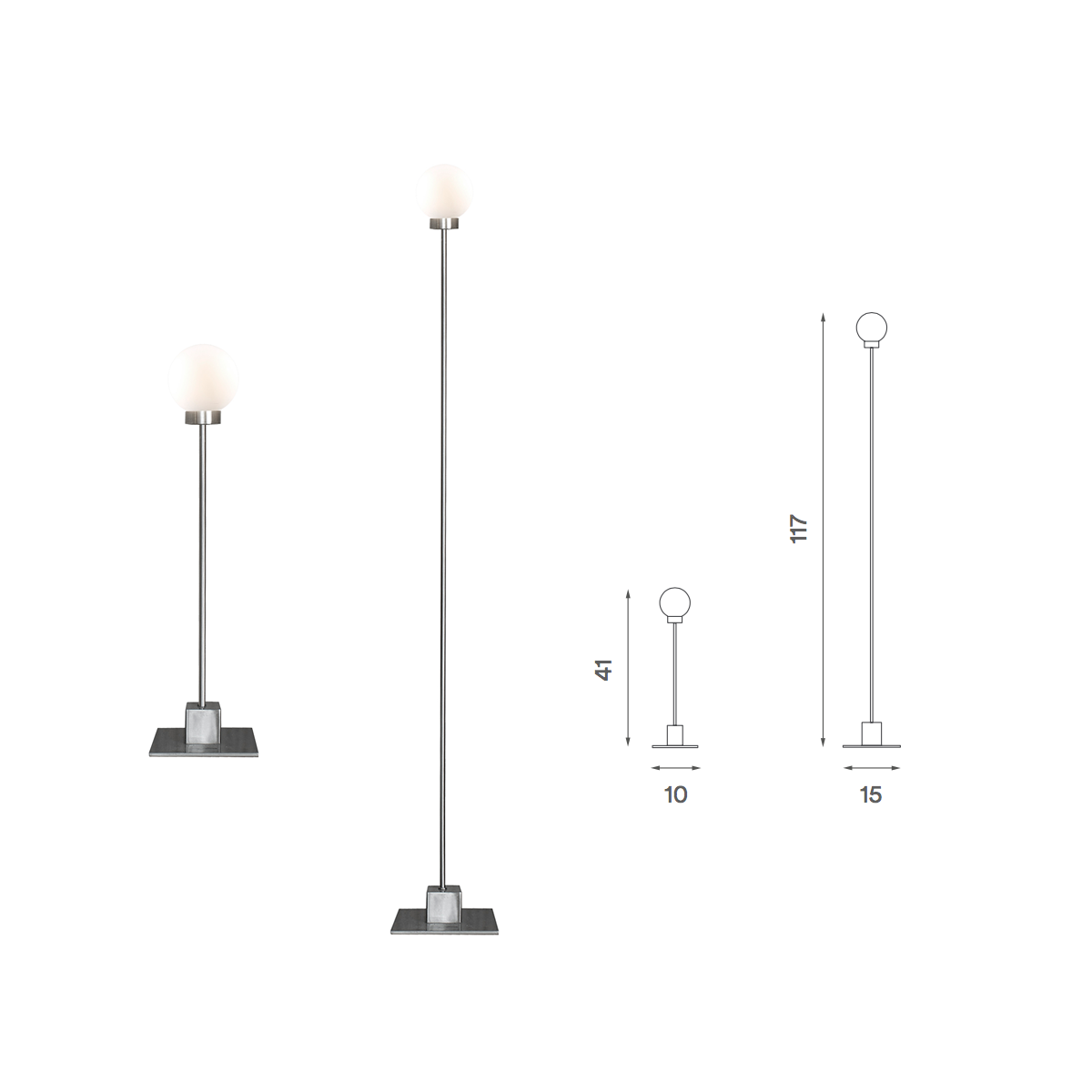 Northern Snowball Large Floor Lamp 雪球系列 立燈