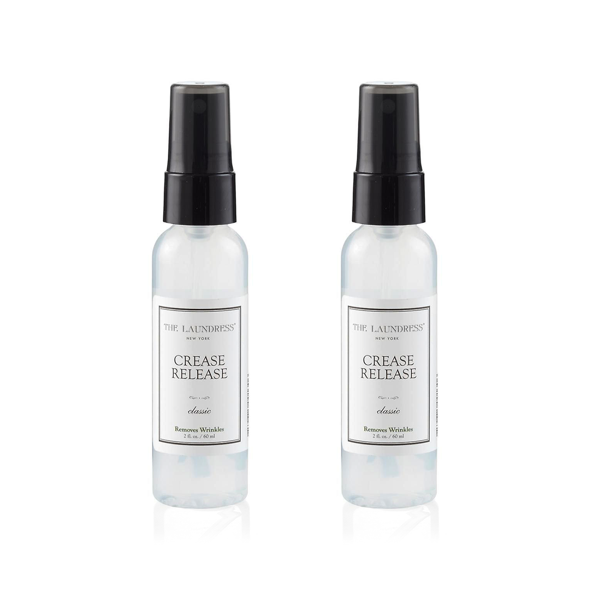 The Laundress Fabric Care, Crease Release Spray Classic 60ml 衣物保養系列 衣物除皺噴霧 兩瓶裝 套組 - Classic 香味款式