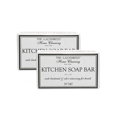 The Laundress Home Cleaning Collection, Kitchen Soap Bar Scent #247, 2pcs 居家清潔系列 手部去味 潔膚皂 兩件組