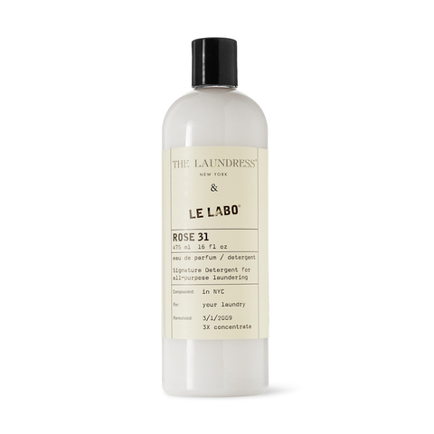 The Laundress Laundry Detergent, Signature Detergent Le Labo, Rose 31 475ml 衣物清潔系列 頂級玫瑰香水洗衣精