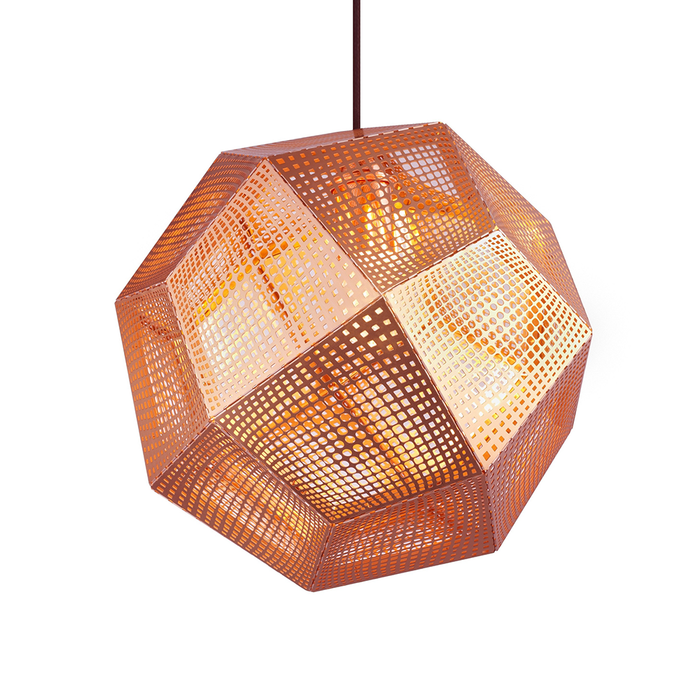 Tom Dixon Etch Shade Suspension Lamp 32cm 金磚 吊燈
