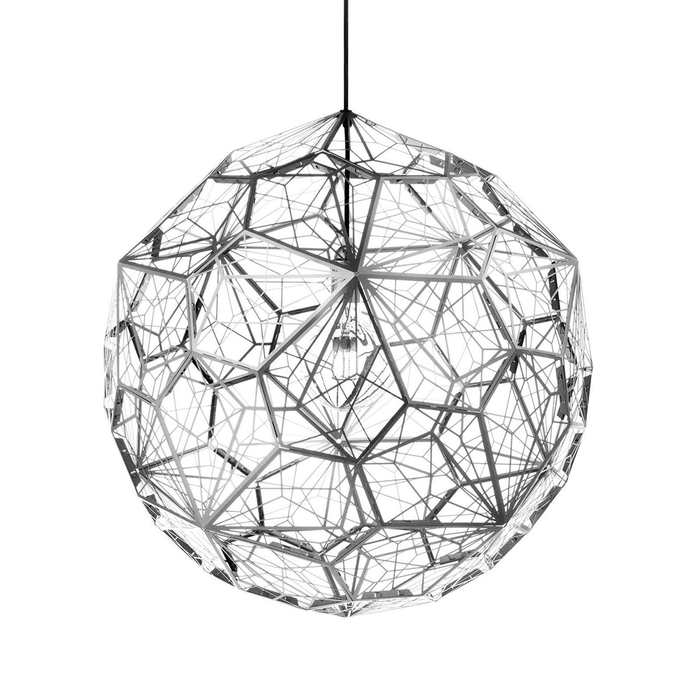 Tom Dixon Etch Light Web Suspension Lamp 網花銀磚 吊燈