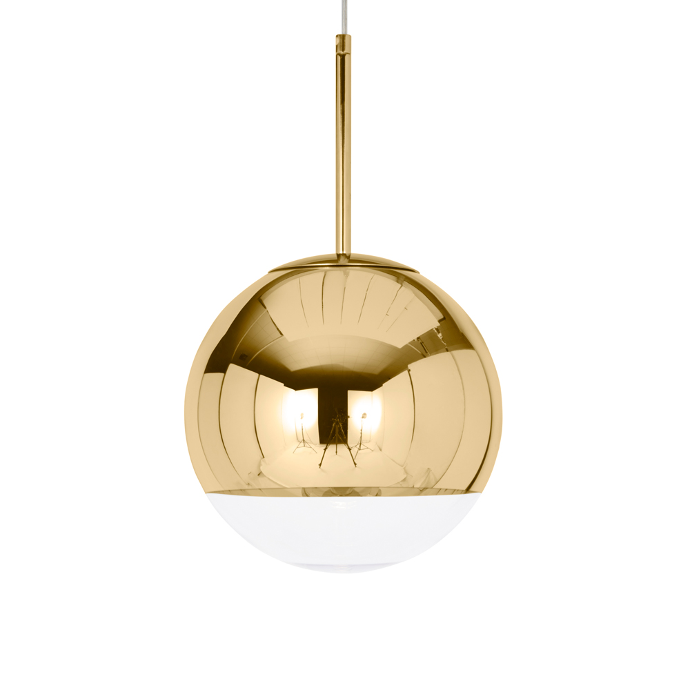 Tom Dixon Mirror Ball Gold Suspension Lamp 鏡面圓球 吊燈 金色版