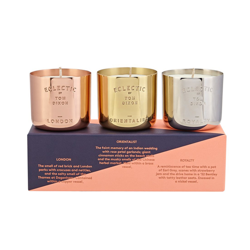 Tom Dixon Scented Candle Gift Set 英倫香氛蠟燭系列 三件式禮盒