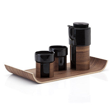Tonfisk Latte Cup Stackable 400cc, Warm 系列 拿鐵咖啡杯 黑色款