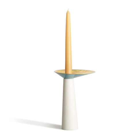 Umbra Shift Asymmetrical Candle Holder Large Teal 不對稱 風格 立式燭台 大尺寸 藍綠色