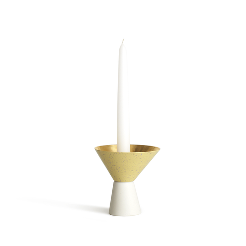 Umbra Shift Asymmetrical Candle Holder Small Yellow 不對稱 風格 立式燭台 小尺寸 黃色