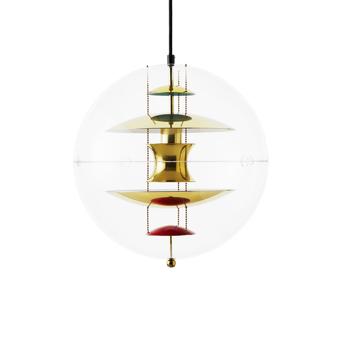 Verpan VP Globe Suspension Lamp in Brass 40cm 地球 吊燈 - 黃銅特別版