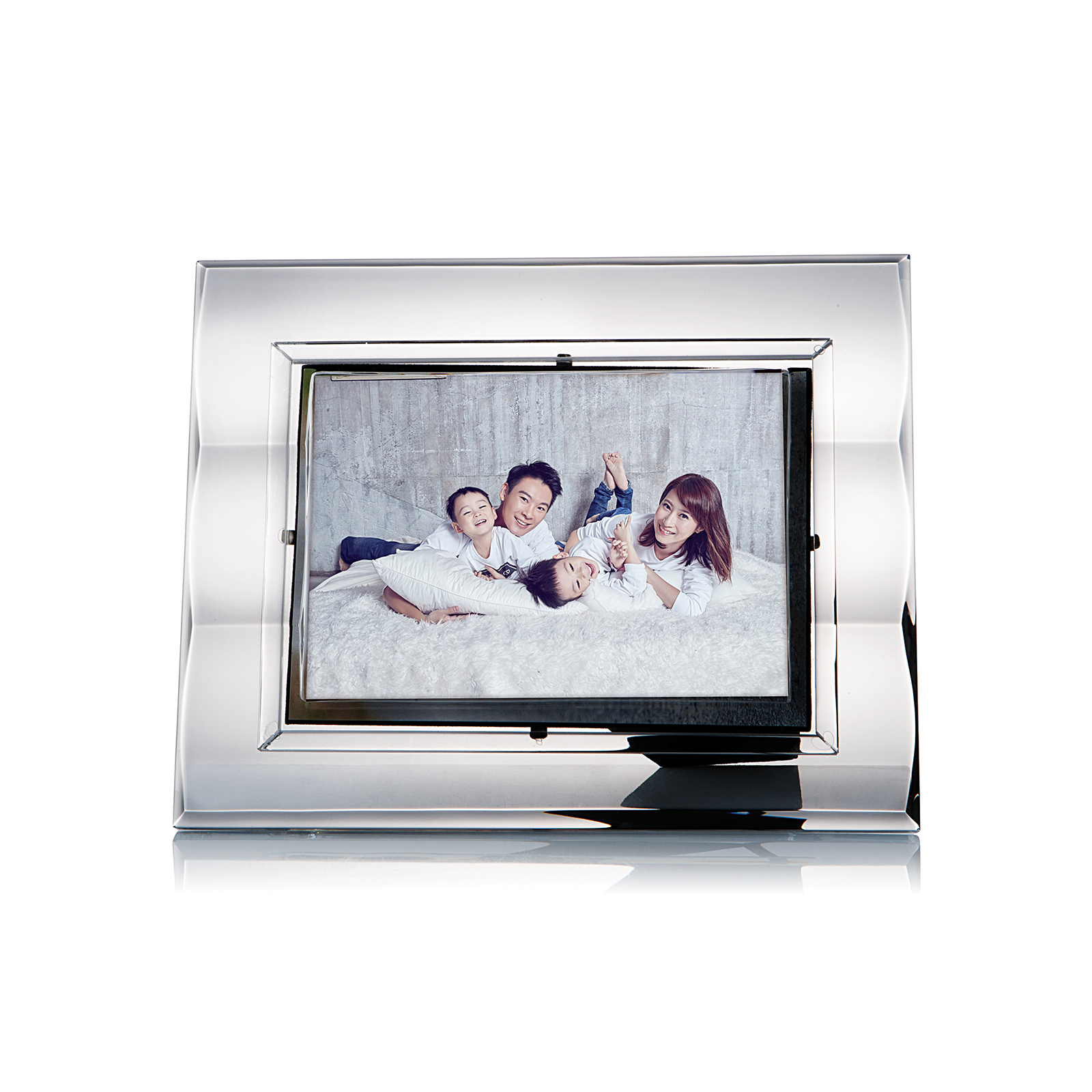 Rogaska Zoom S/1 Picture Frame 13x18cm 放大快樂系列 手工水晶 相框(5x7 照片用)
