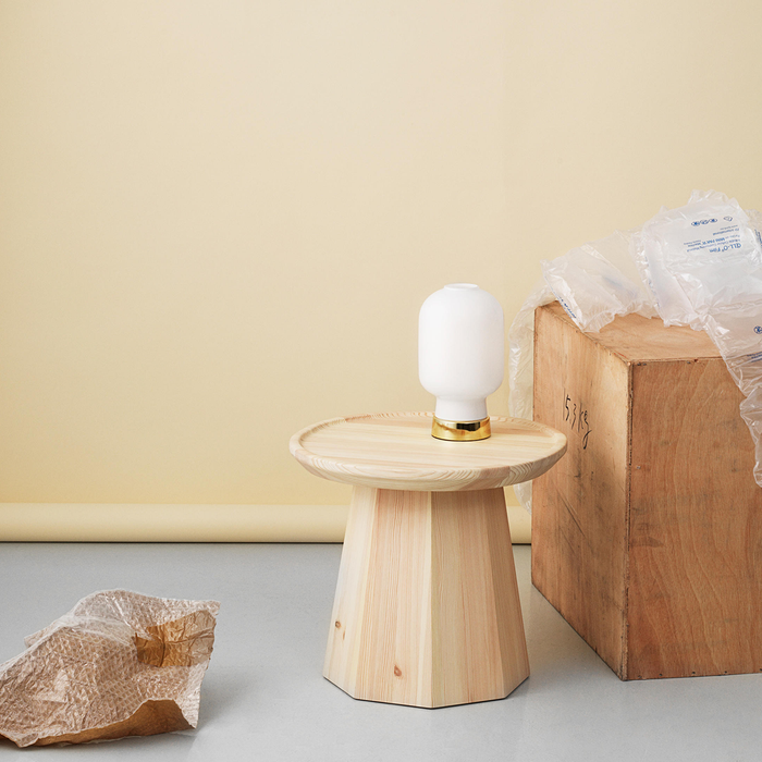 Normann Copenhagen Amp Table Lamp Brass 真空管 玻璃 桌燈 - 黃銅版
