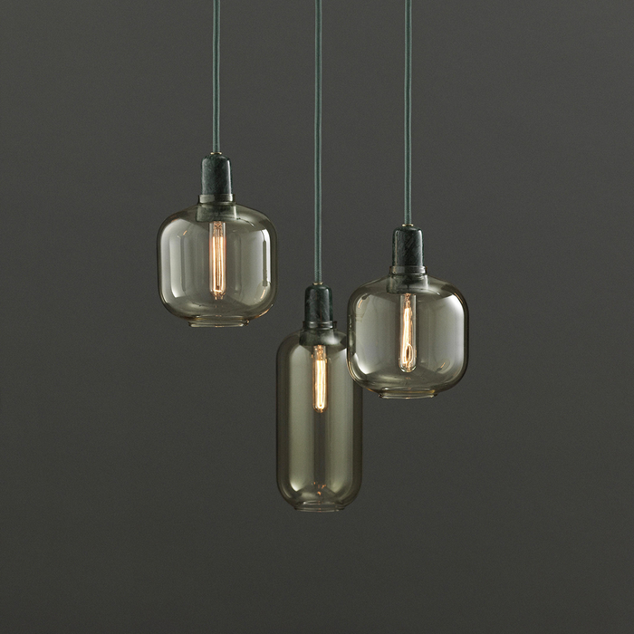 Normann Copenhagen Amp Suspension Lamp Large 真空管 玻璃 吊燈 大尺寸