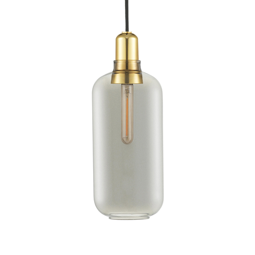 Normann Copenhagen Amp Suspension Lamp Large Brass 真空管 玻璃 吊燈 大尺寸 - 黃銅版