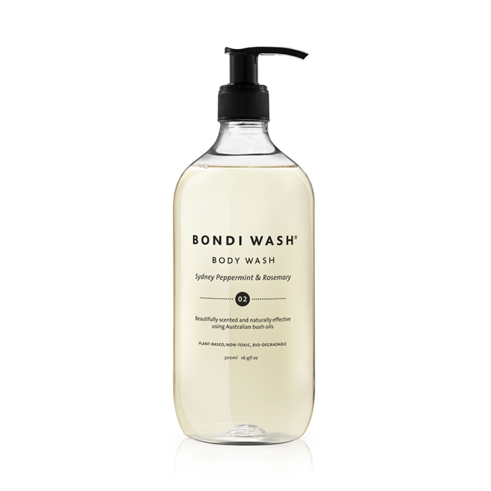 Bondi Wash Body Wash Sydney Peppermint & Rosemary 500ml, 個人清潔系列 沐浴露 雪梨薄荷&迷迭香口味