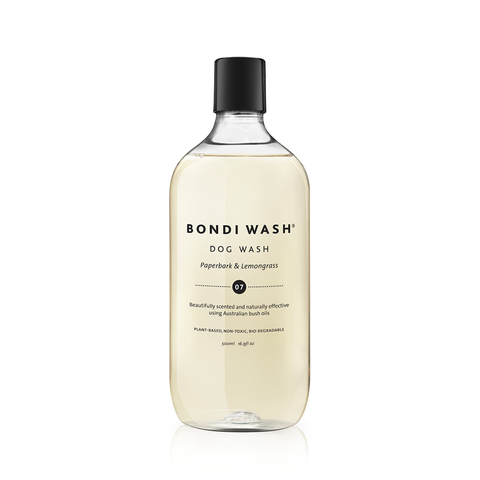 Bondi Wash Dog Wash Paperbark & Lemongrass 500ml,  Dog Range Series 寵物系列 潔毛精 白千層&檸檬草口味