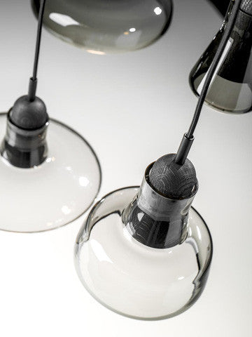Brokis Shadows System Suspension Lamp 5-Light Set 影子 玻璃吊燈 五燈組合