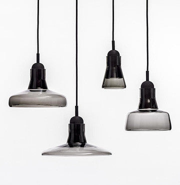 Brokis Shadows Solo Suspension Lamp PC895 28cm 捷克工藝 影子系列 玻璃吊燈