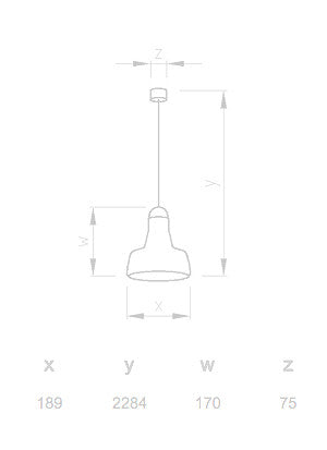 Brokis Shadows Solo Suspension Lamp PC896 18.9cm 捷克工藝 影子系列 玻璃吊燈