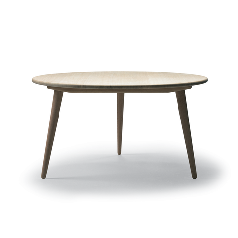 Carl Hansen & Son CH 008 Coffee Round Table with Oil Finish 圓形 實木 咖啡桌 / 茶几 油裝處理
