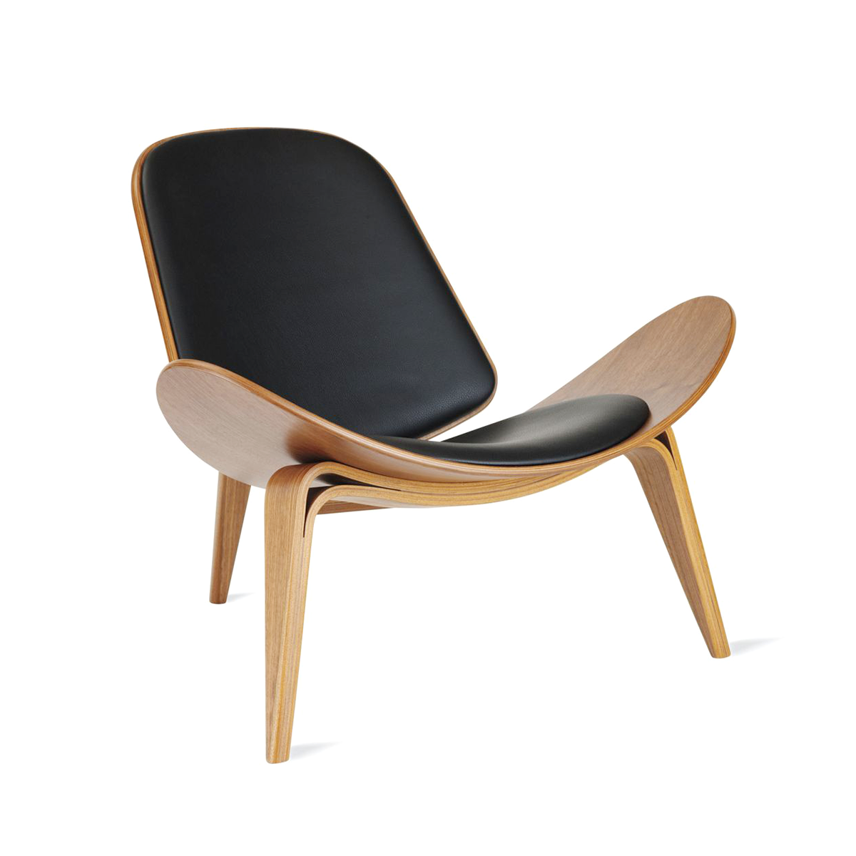 Carl Hansen & Son CH 07 Shell Chair with Oil Finish 威格納設計系列 貝殼椅 油裝處理