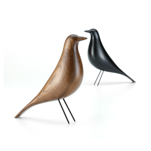 Vitra Eames House Bird in Walnut 木質 木鳥擺飾 - 胡桃木色款