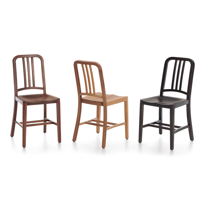 Emeco Navy Chair in Wood 75th Special Edition 經典海軍椅系列 木質 單椅 - 75 週年紀念版