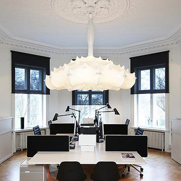 Flos Zeppelin Suspension Lamp S2 齊柏林 絲紡吊燈