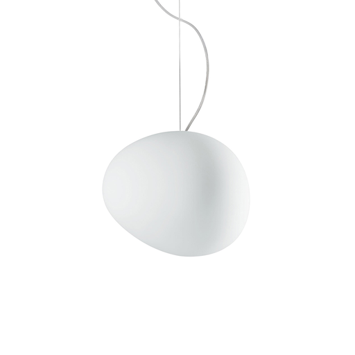 Foscarini Gregg Suspension Lamp in Medium 重生 霧白玻璃 吊燈 中尺寸