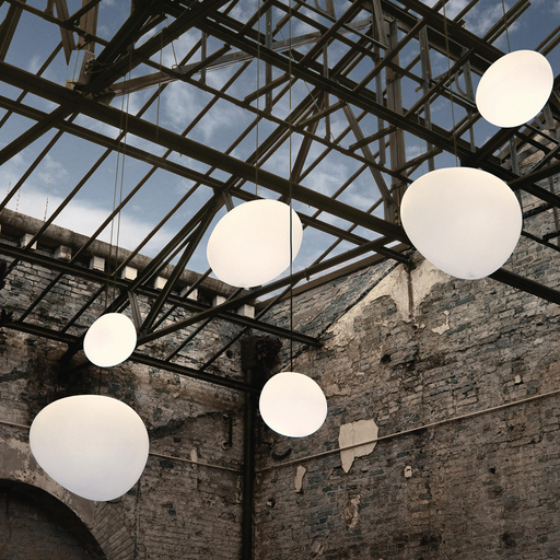 Foscarini Gregg Suspension Lamp in Small / Piccola 重生 霧白玻璃 吊燈 小尺寸