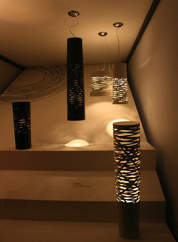 Foscarini Tress Media Terra Floor Lamp 崔斯 立燈 中尺寸