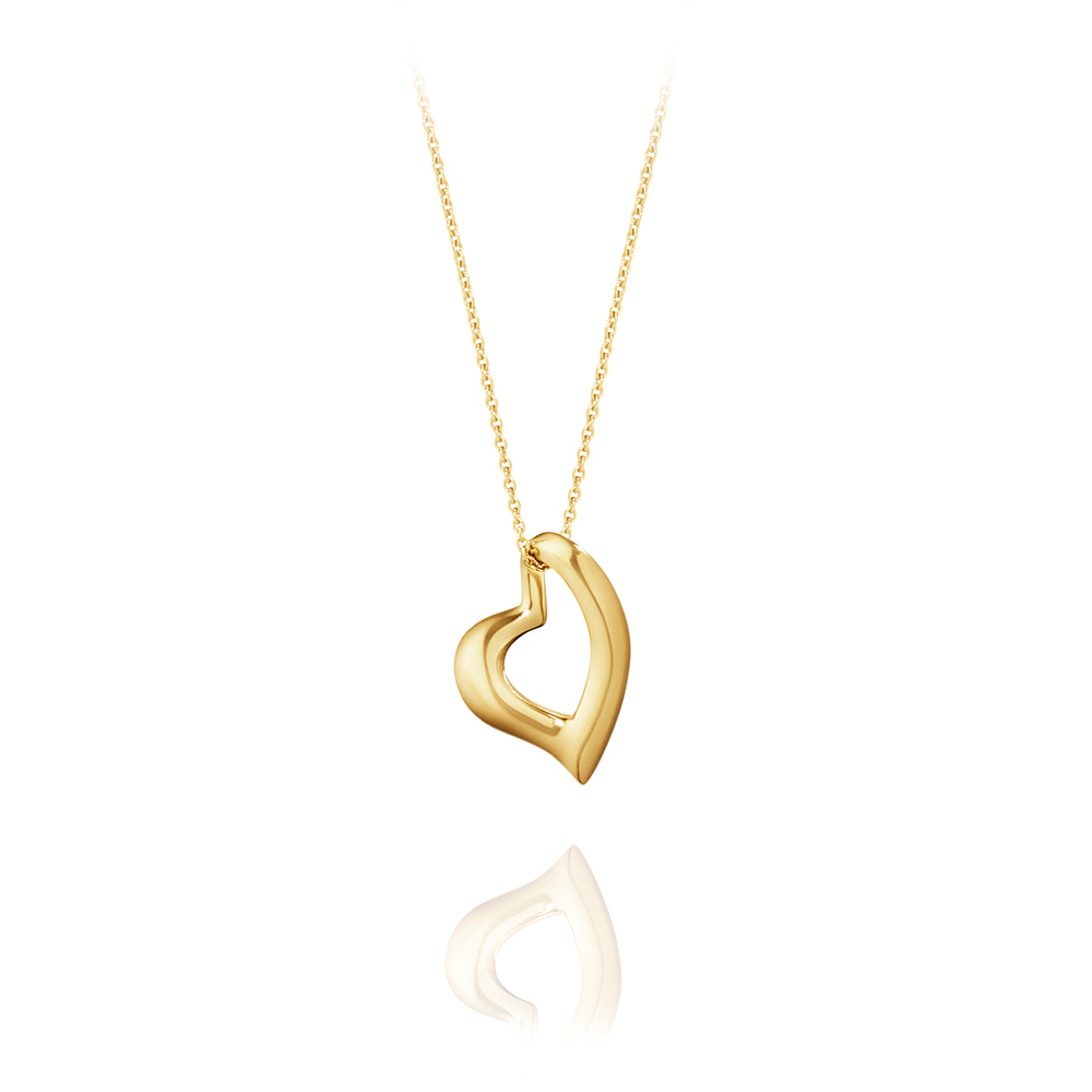 Georg Jensen Jewellery Hearts of Georg Jensen 1631 喬治傑生 心型系列, 躍動愛情 K金項鍊
