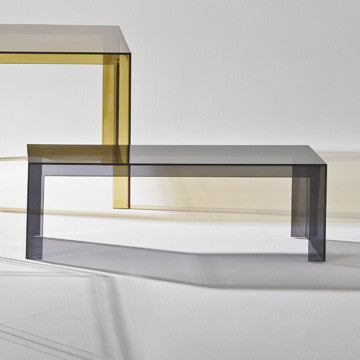Kartell Invisible Side Table 120x40 無形 邊桌 / 茶几