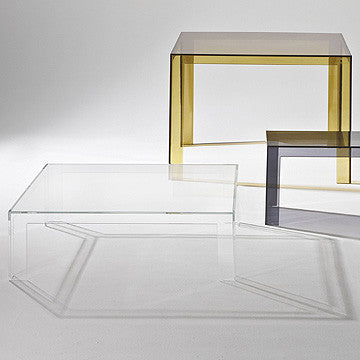Kartell Invisible Table 100x100 無形 工作桌 / 餐桌 / 茶几