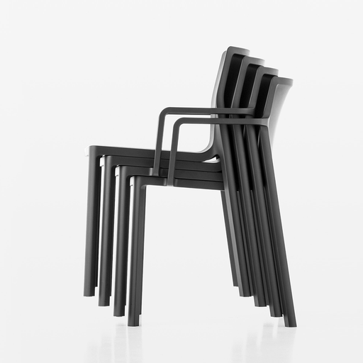 Kristalia LP Stackable Armchair 輕盈 可堆疊 扶手椅