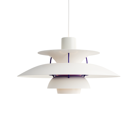Louis Poulsen PH 5 Suspension Lamp in Matt White 霧面白色系列 吊燈