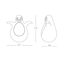 Magis Me Too Pingy The Penguin 企鵝 不倒翁