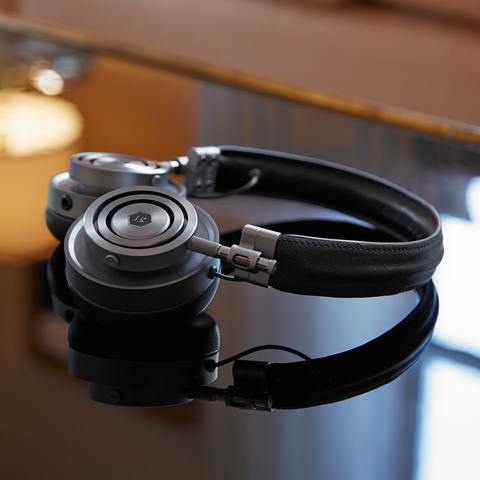 Master & Dynamic MH30 Foldable On Ear Headphones 紐約時尚 折疊式 皮革 耳機