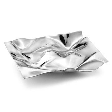 Georg Jensen Masterpieces 1302 Mini Tray 喬治傑生 縐褶 小置物皿