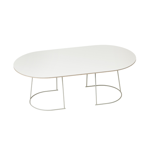 Muuto Airy Coffee Table 輕快 橢圓 咖啡桌