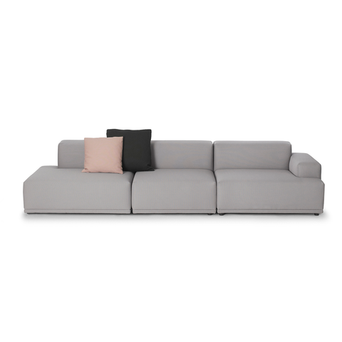 Muuto Connect Sofa Open End 聯結 組合式沙發系列 - 四人座 單開放式沙發 with One Side Open End